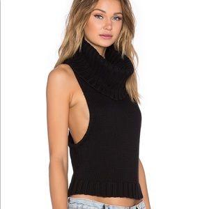 One Teaspoon Parisienne Roll Neck sweater
